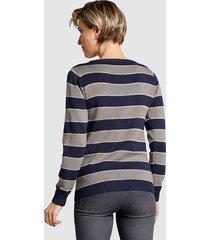tröja dress in marinblå::silverfärgad