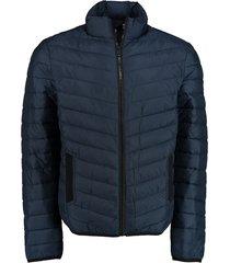 bos bright blue tony short puff jacket 21101to02sb/290 navy