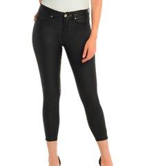 jeans engomado negro bunnys