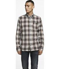 camisa jack & jones brook multicolor - calce regular