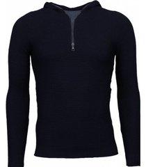 sweater enos long tee ribbels - sweater -