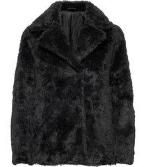 staijna outerwear faux fur zwart tiger of sweden jeans