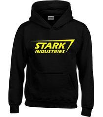 buzo stark industries iron man tony stark con capota saco buso hoodies