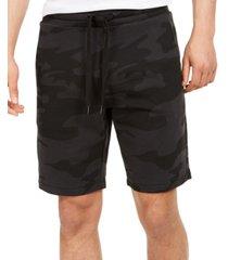 calvin klein men's camo-print shorts