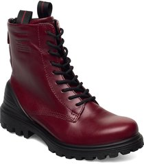 tredtray w shoes boots ankle boots ankle boot - flat röd ecco