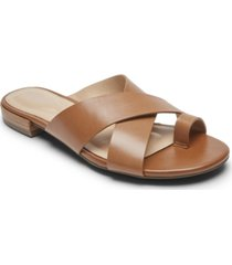 rockport women's total motion zosia toe-thong sandals women's shoes