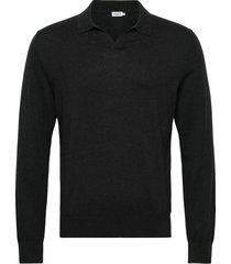 m. lars sweater gebreide trui v-hals grijs filippa k
