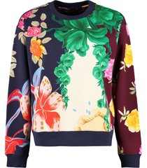 etro printed cotton sweatshirt