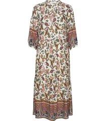 adajecr dress knälång klänning multi/mönstrad cream