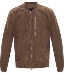 'kemble' leather bomber jacket