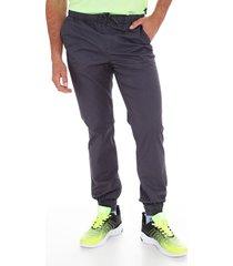 pantalon  jogger gabardina gris family shop