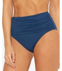 bleu by rod beattie high waist bikini bottoms women's swimsuit