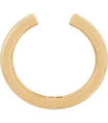 maria black phoenix maxi ring - gold