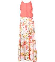 lange jurk rip curl island long dress