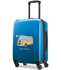 """american tourister life is good 20"""" hardside carry-on spinner"""