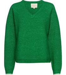 aliza jumper stickad tröja grön lollys laundry
