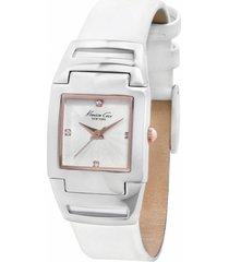 reloj blanco kenneth cole new york