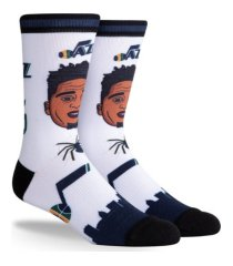 parkway utah jazz pins crew socks