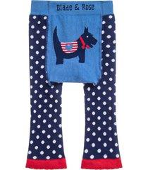 meia calça legging cachorro blade & rose azul