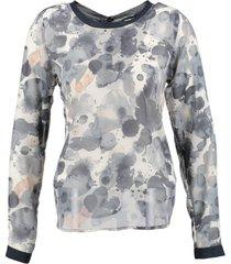 garcia blouse greyish blue
