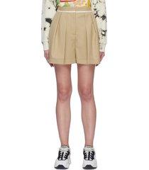 'ariel' wool shorts