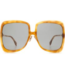 fendi fendi ff 0429/s honey havana sunglasses