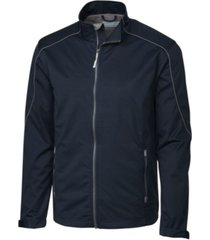 cutter & buck men's big & tall weathertec opening day softshell jacket