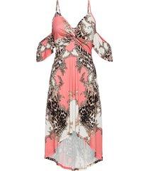 abito asimmetrico (rosa) - bodyflirt boutique