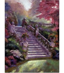 "david lloyd glover stairway to my heart canvas art - 20"" x 25"""
