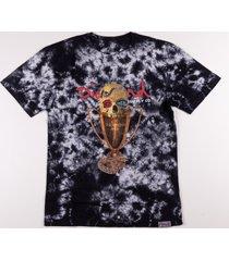 camiseta diamond pirates cup cristal wash tee preto