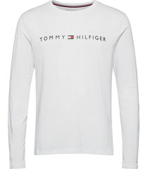 cn ls tee logo t-shirts long-sleeved vit tommy hilfiger