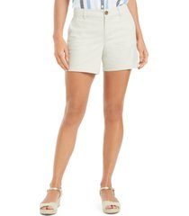 style & co. chino shorts, created for macy's