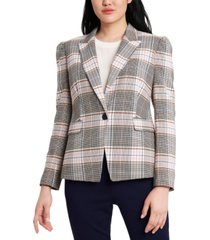 riley & rae fitz plaid jacket, created for macy's