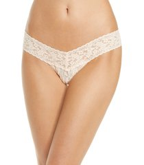 hanky panky occasions low rise thong in i do vanilla at nordstrom