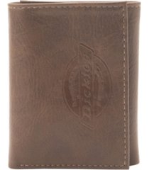 dickies embossed trifold men's wallet