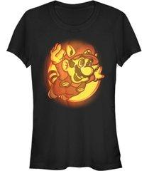 fifth sun nintendo women's super mario halloween short sleeve tee shirt