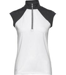 cathy cap s polo shirt t-shirts & tops polos vit daily sports