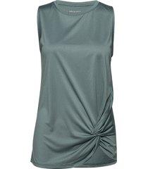 knot singlet t-shirts & tops sleeveless grön röhnisch