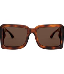 burberry burberry be4312 light havana sunglasses