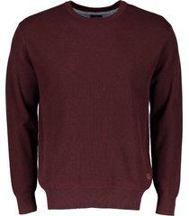 jac hensen pullover - modern fit - bordeaux