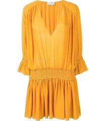 studded georgette dress