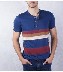 camiseta rayas azul navy ref. 108020320
