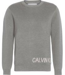 ck jeans on back gris calvin klein