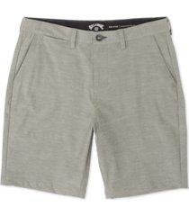 billabong men's new order heathered hybrid shorts