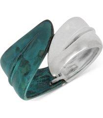 robert lee morris soho leaf bypass bangle bracelet