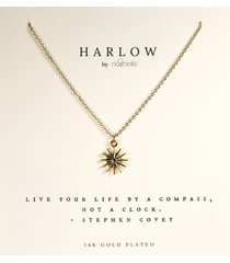 women's harlow by nashelle compass boxed necklace
