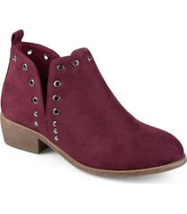 journee collection women's firth bootie women's shoes
