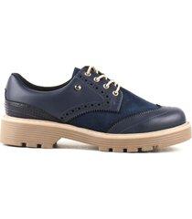 zapato de mujer color azul cosmos
