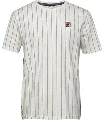 men hades aop tee t-shirts short-sleeved vit fila