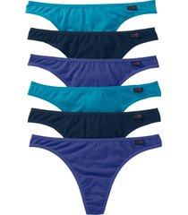 perizoma (pacco da 6) (blu) - bpc bonprix collection